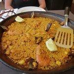 Paella morisco