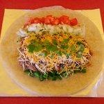 Loaded Chicken Burrito