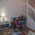 The girls in the livingroom