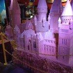 hogwarts made of toothpicks