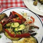 Roast vegtables were very good
