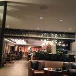 hotel lobby/bar area