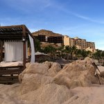 Spa services on the beach