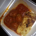 The meatball appetizer - to go