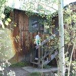 entrance to Ramona cabin