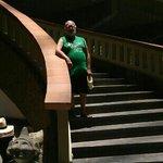Princess lobby stairs!