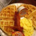 Waffles look yummy but taste funny