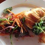 Ham, Brie & Salad Croissant