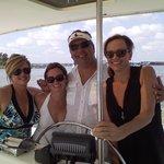 Me and my friends w/ Captain Matt