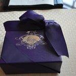 Birthday truffles from the hotel!