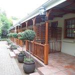 Stoep/verandah rooms