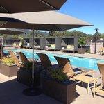 Pool side heaven!