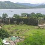 Views of the fort from our veranda