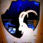 Front door, the Ibex welcomes you!
