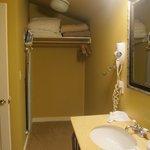 Closet in bathroom?