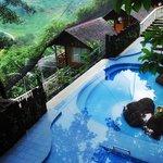 The hydro pool