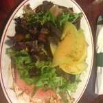 Rosebud's Cafe, Pork Belly Watermelon Salad