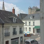 This was from our room, you can see the Chateaux
