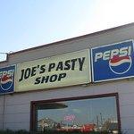 Outside of Joe's Pasty Shop