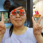 """The funky """"test"""" glasses"""