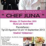 Chef Juna at Swiss-Belinn Pangkalan Bun
