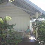 Outside verandah