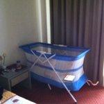 baby-cot fornita dall'Hotel