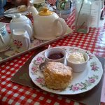 Best scone and cup of tea!