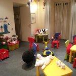 Zona bambini a piano terra