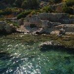 Le rovine sommerse della baia di Kekova