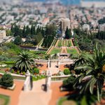 Photo from the Top of Bahai Gardens