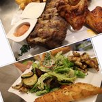 Rips & Wings VS. Styria Rox Mix Salat