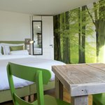 The Standard Double Room with Forest theme.