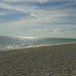 Spiaggia libera nella zona