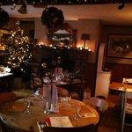 Restaurant at Christmas