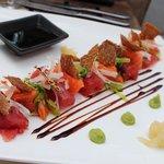 Sashimi zalm/tonijn