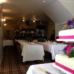 wedding in the restaurant