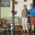 Guy et Moniqie Perrot, les propriétaires du Gîte