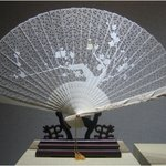 Suzhou Art and Crafts Museum - an ivory filigree fan