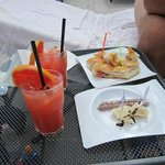 Garibaldi cocktail & snacks