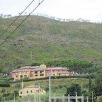l'albergo visto dalla stazione di Levanto