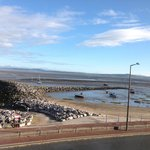 View from 2nd Floor Room 8 at low tide
