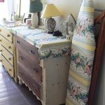 Lovely old-fashioned furniture.