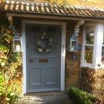 Front door to Slipper Cottage B & B