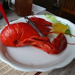 The lobster at Fox's.