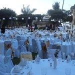 Diner voor 500 gasten