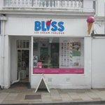 Bliss Ice Cream Parlour in Sandown, Isle of Wight
