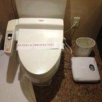 Japanese style bidet - warm seat, automated spraying