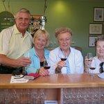 Wine tasting at Strewn