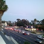 From Room 234 balcony at sunset in Dana Point